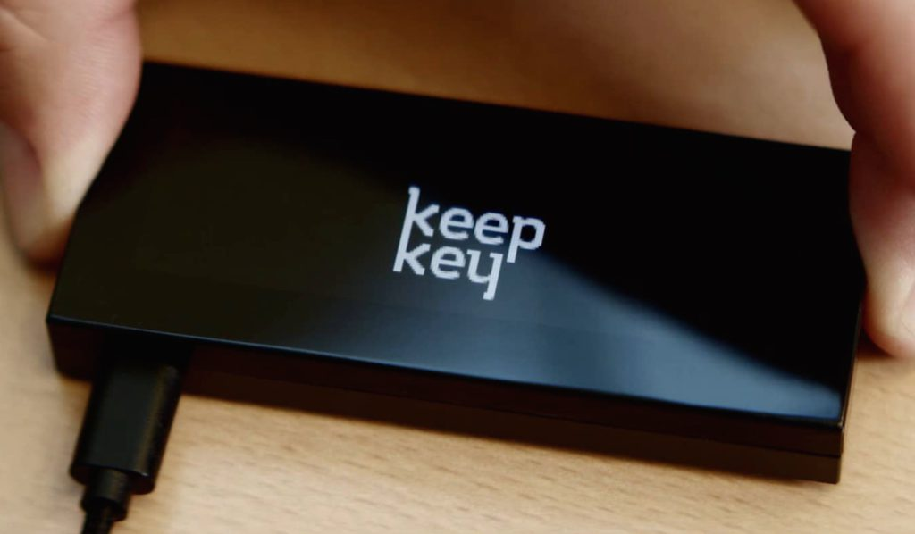 KeepKey bitcoin tárca